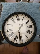 Retro style looking Wall Clock clock. Approx 15 inches across
