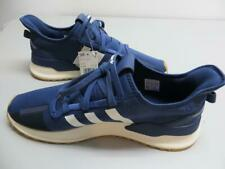 Adidas Men's Shoes Sneakers Navy Blue Size 13 White Stripes Material