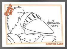 2005 Inkworks Family Guy Season One Sketch Card #5 Mark Dos Santos #458/534