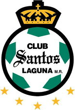 Santos Laguna Vinyl Decal Football Logo Soccer Liga MX Mexico 4 Stickers