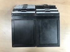 Lot of 10 Lisco 4x5 wooden sheet film holders for all 4x5 cameras