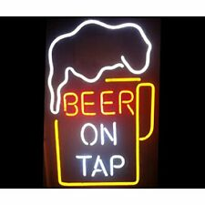 "New Beer On Tap Bar Neon Light Sign 24""x20"""