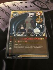 Naruto Cards TCG CCG Change in Chakra Nature 620 RARE COMBINED SHIPPING