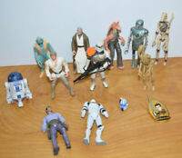 "STAR WARS Action Figure Lot 3.75"" Kenner Hasbro POTF2 With Parts Custom Fodder"