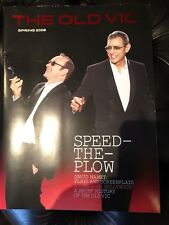 Signed Kevin Spacey Jeff Goldblum Speed The Plow Old Vic autographs