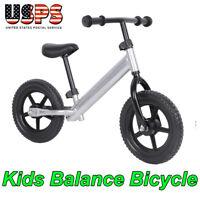 12 inch Sports Wheel Kids Training Balance Bicycle Children No-Pedal Bike