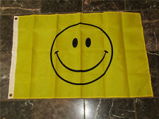 Hot 3x5 Smile Smiley Face Happy Face Flag 3'x5' Banner Brass Grommets