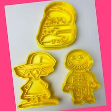 Set Of 3 Nightmare Before Christmas Cookie Cutters
