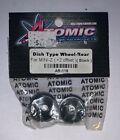 ATOMIC AR-119 DISH TYPE WHEEL-REAR FOR MINI-Z ( +2OFFSET ) , BLACK