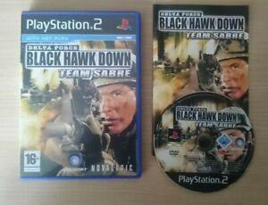 PS2 - Delta Force: Black Hawk Down: Team Sabre - Complete