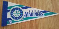 Vintage Seattle Mariners Mini Pennant - Banner Flag