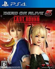 DEAD OR ALIVE 5 Last Round SONY PS4 PLAYSTATION JAPANESE NEW JAPANZON