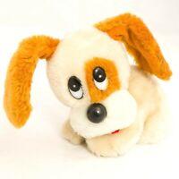 "Applause Van Dyke Dog Plush 5"" VTG Sad Puppy Eyes Brown Ears Stuffed Animal Toy"