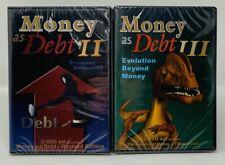 Money as Debt 2 + 3   II + III   4 DVDs   Paul Grignon   Documentary