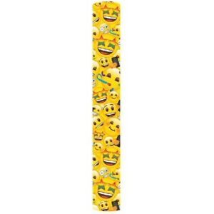 BUY 2 GET 1 FREE 2m EMOJI ROLL WRAP/ WRAPPING PAPER PER ROLL