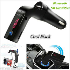 Car Bluetooth Wireless FM Transmitter AUX Radio Adapter MP3 Handsfree Call Kit