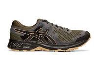 Asics Gel-Sonoma 4 (4E) Mens Trail Running Shoes - Olive Canvas/Black