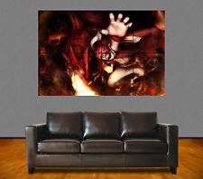 FAIRY TAIL. N°10. MANGA. NATSU DRAGNEEL AND DRAGON IGNEEL. GIANT ART POSTER A0.