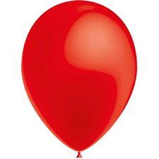 100 Ballons de Baudruche Métal Rouge 27 cm Ø [hg95m83] decoration orange