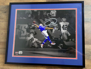 "Odell Beckham jr. ""The Catch"" Autographed & framed Fanatics"