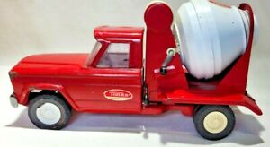 Vintagel Tonka Jeep Cement Mixer Truck, 1960's, Good Cond, Drum Turns and Dumps