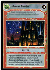 STAR WARS CCG REFLECTIONS VRF CARD CORUSCANT CELEBRATION