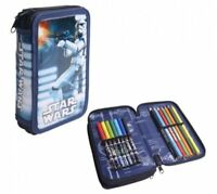 Star Wars Pencil Case Filled with Stationery Great Value