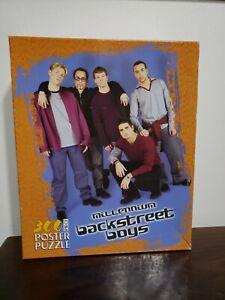 Backstreet Boys Millennium Large 300 Piece Vintage Poster Puzzle 2000 New Rare
