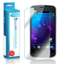 2x iLLumi AquaShield Crystal HD Clear Screen Protector for Samsung Galaxy Nexus