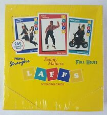 1991 Laffs SEALED BOX Perfect Strangers,Full House,Family Matters~36 card packs