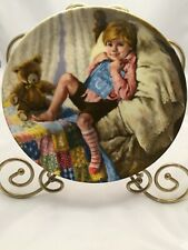 1984 Collector Plate Diddle Diddle Dumpling Mother Goose John McClelland Usa