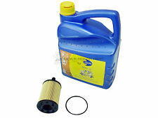 SEAT ALTEA 1.9 + 2.0 TDI ENGINE OIL 5W30 SYNTHETIC LONGLIFE + FILTER SERVICE KIT