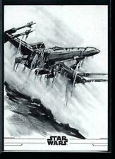 2020 Topps Star The Rise of Skywalker Sketch Card by Anil Sharma-Spacehindu-Auto