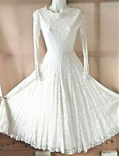 True vintage 1950s wedding dress