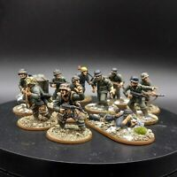 Pro Painted 28mm Bolt Action German Waffen SS Squad ×11 + objective marker ww2
