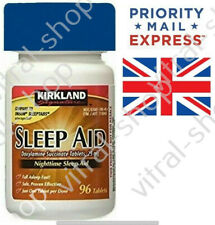 Kirkland Signature SleepAid Tablets 25 Mg EXPRESS PRIORITY SHIPPING + TRACKING