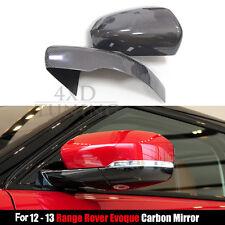 For Land Rover Range Rover Evoque Carbon Fiber Mirror Cover Stick on 2012 2013