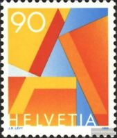 Schweiz 1563A (kompl.Ausg.) gestempelt 1995 Freimarke