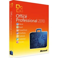 Microsoft Office Professional 2010 - New - Full Version - Download