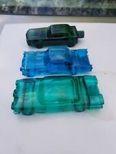 New listing 3 Vintage Avon Cologne & AfterShave Bottles Cars Automobiles (full /nearly full)