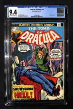 Tomb of Dracula #19 CGC 9.4 Blade appearance
