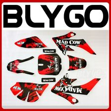 3M MADCOW Decal Graphics Sticker Kit CRF50 Fairing Plastic PIT PRO Dirt Bike