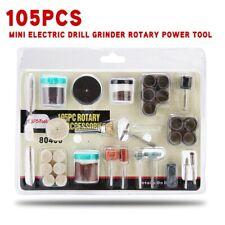 105pcs мини Электрический сверлильный станок вращающийся электрический инструмент шлифовальный полировальный набор