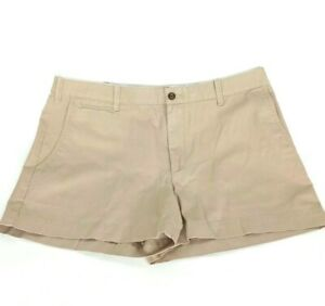POLO RALPH LAUREN Golf Shorts Khaki Tan Cotton Women's, Size 12