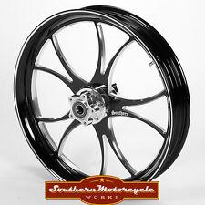 Southern Black Sabbath Front 18X3.5 Custom Wheel Harley Touring Single W/O ABS
