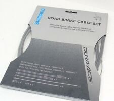 Genuine Shimano Dura-Ace Brake Cable Set, Front & Rear Cables & Housing, New
