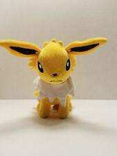 "Genuine Tomy Pokemon 8"" Jolteon Soft Plush Toy Nintendo"