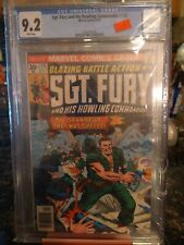 SGT. FURY AND HIS HOWLING COMMANDOS #135  SEPT/1976 cgc 9.2