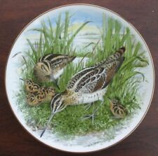 Game Birds of the South Collector Plate Common Snipe by Southern Living Gallery
