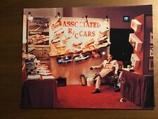 Vintage Associated Roger Curtis Trade Show Booth 8x10 Photo 1/8 1/12 RC Car
